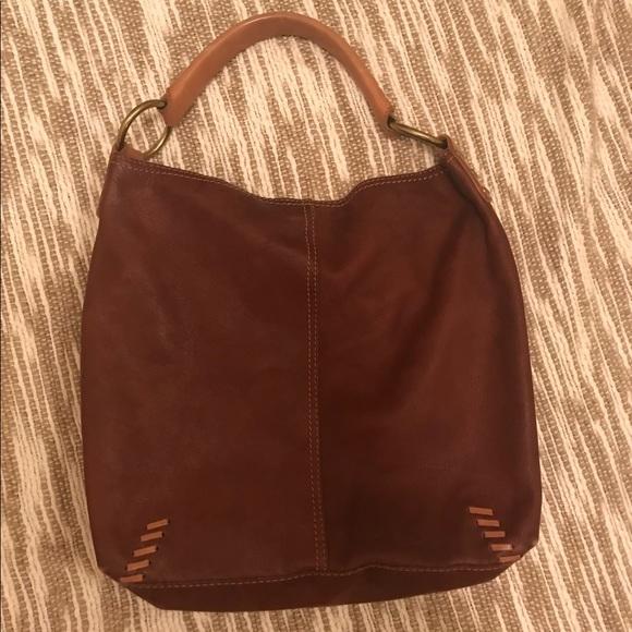 Lucky Brand Bags   Medium Leather Slouch Bag   Poshmark cb5911e600